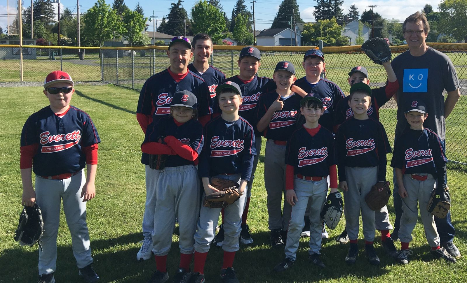 Look for us a local sports events in the community. Last spring, we sponsored the Everett Little League and had a great time cheering them on. Play ball!
